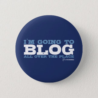 私はいたる所にblogだろう(LiveJournal) 5.7cm 丸型バッジ