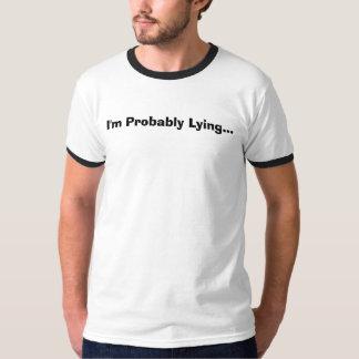 私はおそらく…あっています Tシャツ
