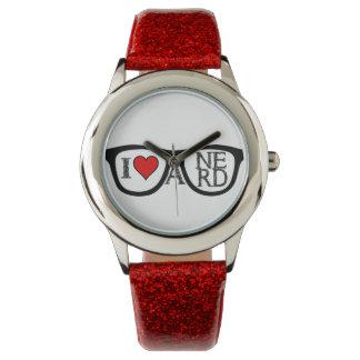 私はおたくのオタク系のガラスを愛します 腕時計