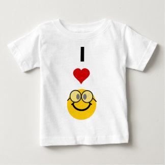 私はおたくを愛します ベビーTシャツ