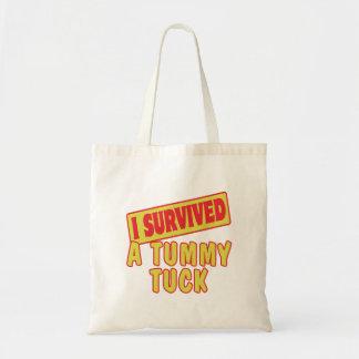 私はおなかのタックを生き延びました トートバッグ
