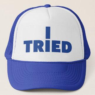 私はおもしろいのスローガンのトラック運転手の帽子を試みました キャップ