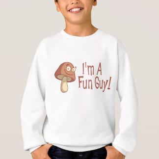 私はおもしろいの人です! スウェットシャツ