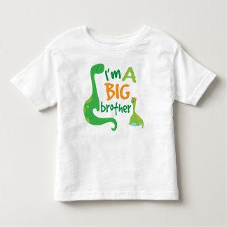 私はお兄さんの男の子の恐竜のTシャツです トドラーTシャツ