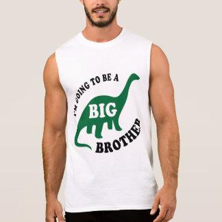私はお兄さん-恐竜であることを行っています 袖なしシャツ