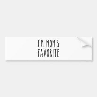 私はお母さんの自州の代議員を支持者にもつ候補または娘です バンパーステッカー