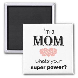 私はお母さんの軍事大国の正方形の磁石です マグネット