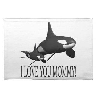 私はお母さん愛します ランチョンマット