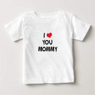 私はお母さん-幸せな母の日のギフトのTシャツ愛します ベビーTシャツ
