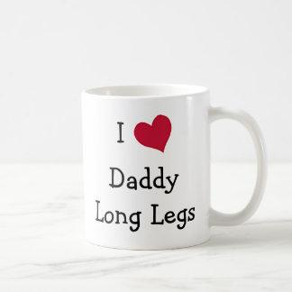 私はお父さんの長い足を愛します コーヒーマグカップ