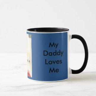 私はお父さんのBabyfaceの私のマグを愛します マグカップ