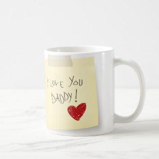 「私はお父さん」のマグ愛します コーヒーマグカップ