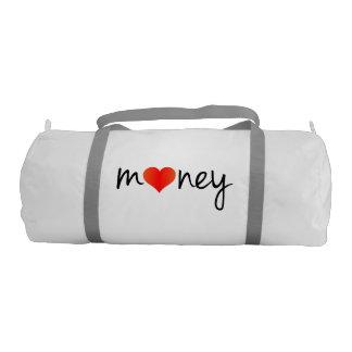 私はお金によってすごいクールで熱狂するで及びおもしろいな体育館のバッグを愛します ジムバッグ