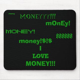 私はお金のマウスパッドを愛します マウスパッド