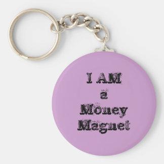 私はお金の磁石です キーホルダー