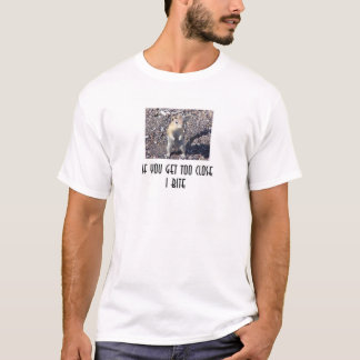 私はかみます Tシャツ