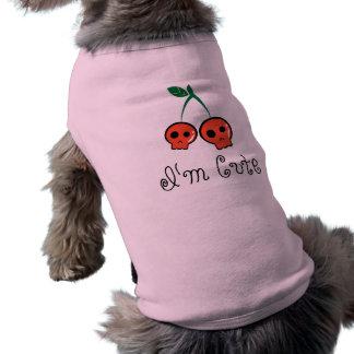 私はかわいい犬のTシャツです ペット服
