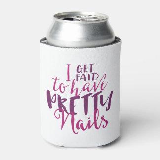 私はかわいらしいネイルのクーラーボックスを有するために俸給を受け取ります 缶クーラー