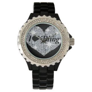 私はきらきら光るな腕時計を愛します 腕時計