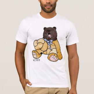 私はくまを暴露できません Tシャツ