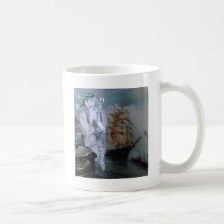 私はここにこれが出荷するsteerin'regです コーヒーマグカップ