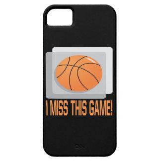 私はこのゲームを恋しく思います iPhone SE/5/5s ケース