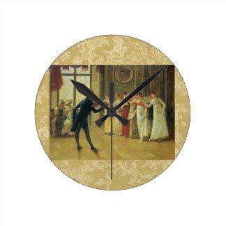 私はこのダンスを有してもよいですか。 ラウンド壁時計