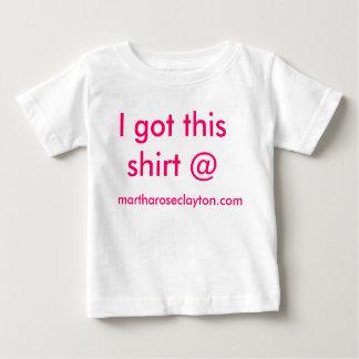 私はこのワイシャツ@ martharoseclayton.comを得ました ベビーTシャツ