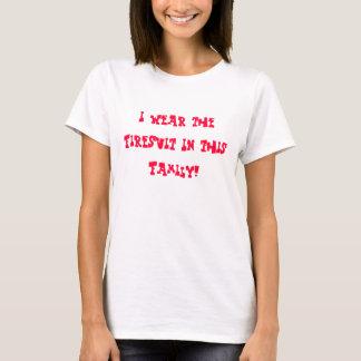 私はこの家族のFiresuitを身に着けています! Tシャツ