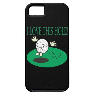 私はこの穴を愛します iPhone SE/5/5s ケース