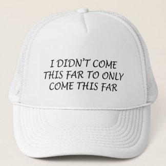 私はこの遠いトラック運転手の帽子を来ませんでした キャップ