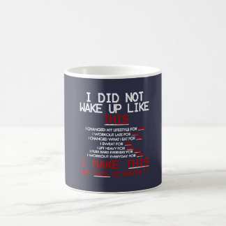 私はこれのように目覚めませんでした コーヒーマグカップ