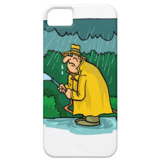 私はこれらに水をまきましょうか。仕事は湧き出ます! iPhone SE/5/5s ケース