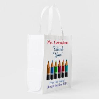 私はこれらのバッグを-先生/だれでもトート- SRF愛します エコバッグ