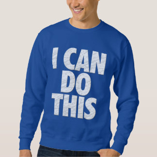 私はこれをしてもいいです(暗闇) スウェットシャツ
