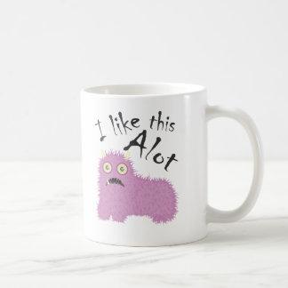 私はこれをたくさん好みます コーヒーマグカップ
