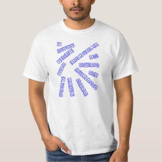 私はころばないことを望みます Tシャツ
