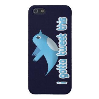 私はさえずるためにこのTwitterの鳥のiPhoneの場合得ました iPhone SE/5/5sケース