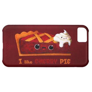 私はさくらんぼパイを愛します iPhone5Cケース