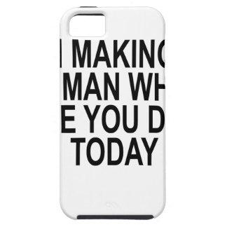 私はされたTODAY.pngある何が人間を作っています iPhone SE/5/5s ケース