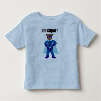 私はすごい(青) トドラーTシャツ