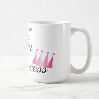 私はすばらしいマフィアのプリンセスを作ります コーヒーマグカップ