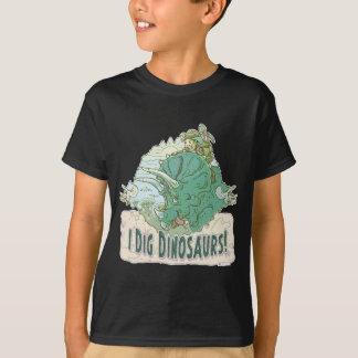 私はすべての年齢の恐竜のハンターのための恐竜を掘ります Tシャツ