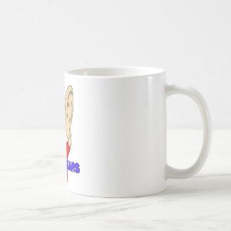 私はすべての耳です! コーヒーマグカップ