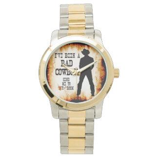 私はずっとあなたの部屋に悪いカウボーイ差し向けます私をです 腕時計