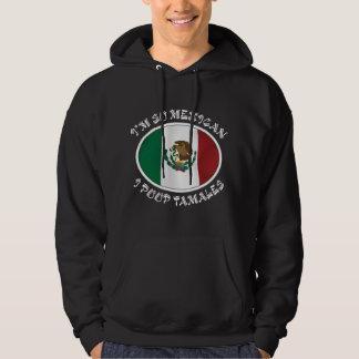 私はそうメキシコIのウンチのタマレです パーカ