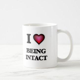 私はそのままであることを愛します コーヒーマグカップ