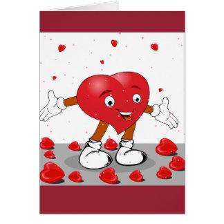 私はその戯曲バレンタインデーカードをすべて必要としません グリーティングカード