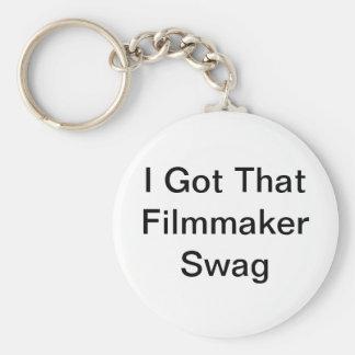 私はその映画製作者のスワッグKeychainを得ました キーホルダー