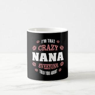 私はその熱狂するなナナです コーヒーマグカップ